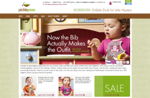 Pickle Peas E-Commerce Web Design