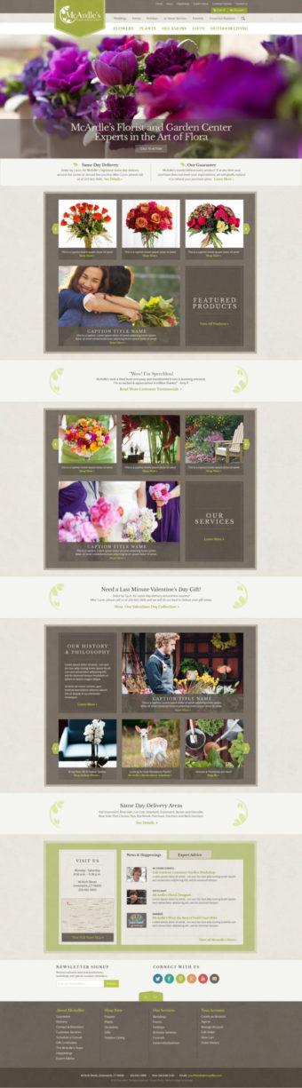 McArdles Web Page Design