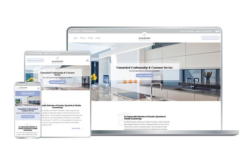 Manufacturer Website Design