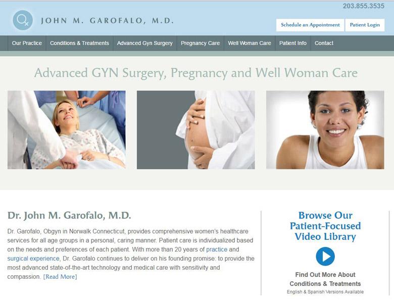 Medical Practice Web Design