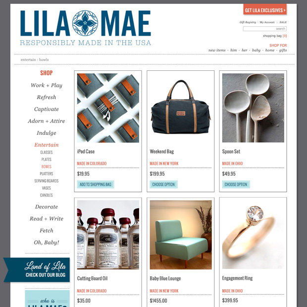E-Commerce Category Page Design