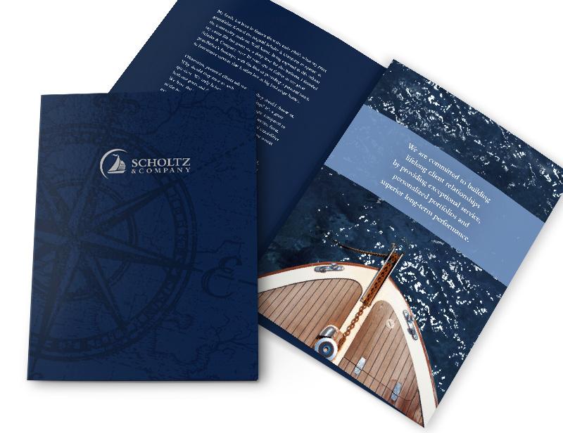 Financial Services Folder Design