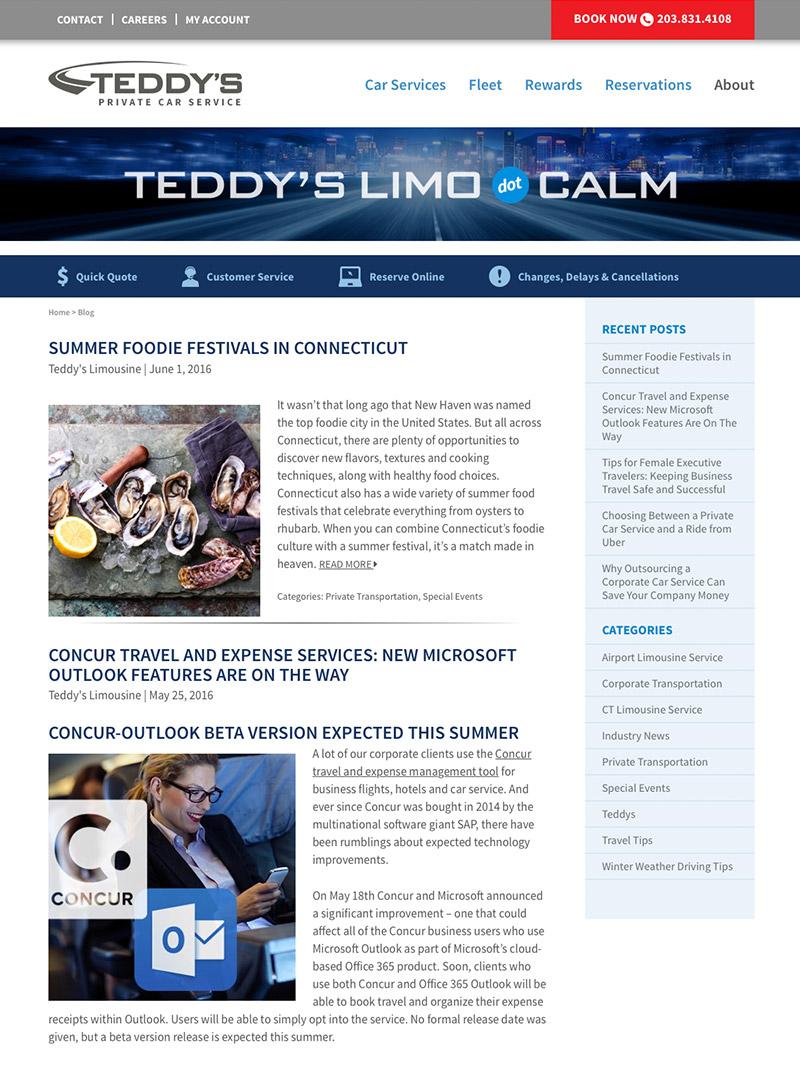 blog Design in Connecticut