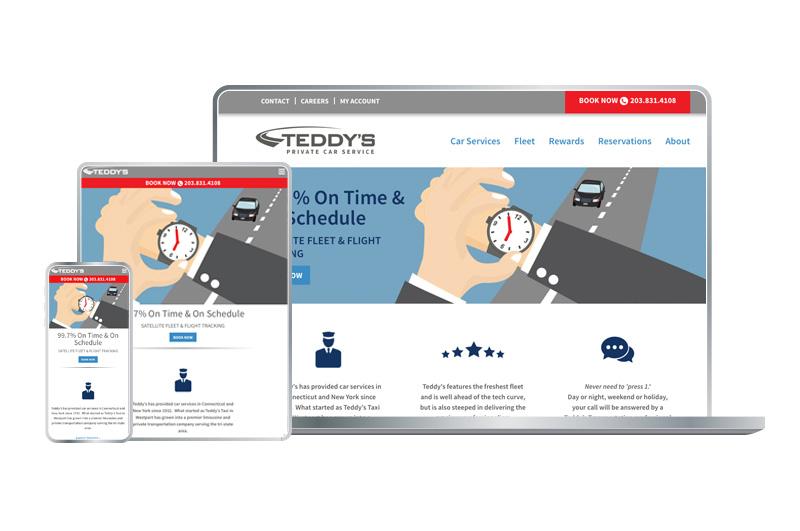 Responsive Web Design, Teddy's Transportation