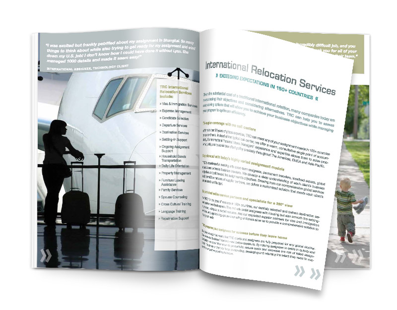 Corporate Brochure Print Design CT