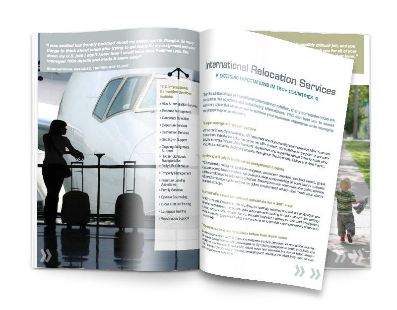 Corporate Brochure Print Design CT