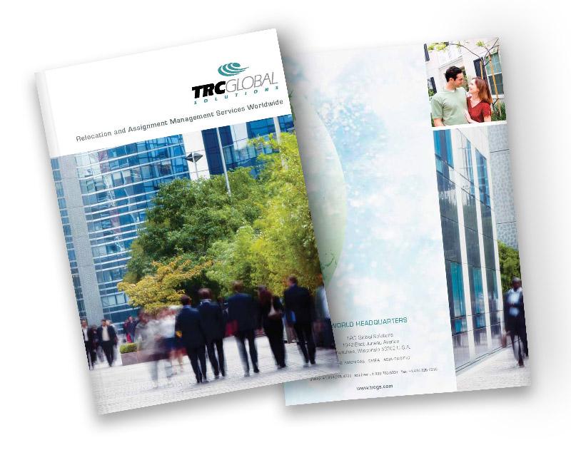 Corporate Brochure Cover Print Design CT