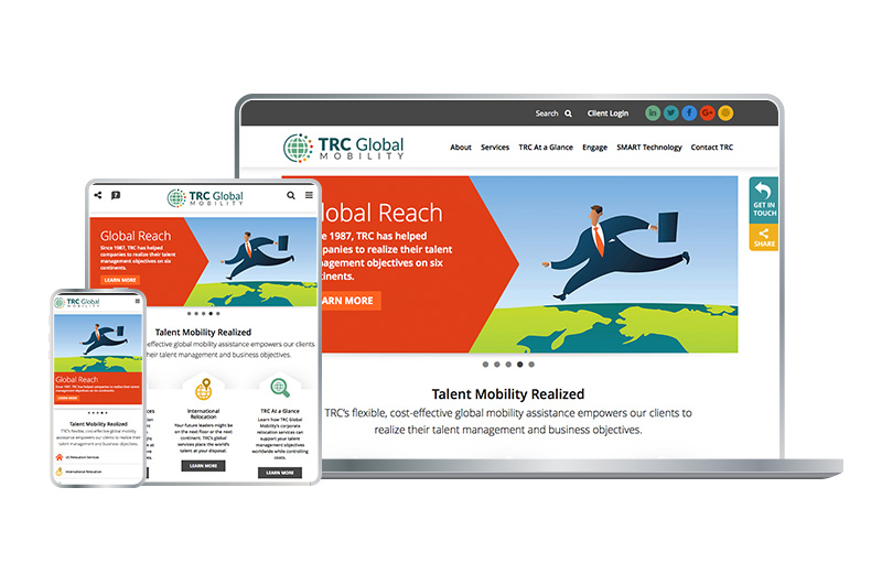 Responsive Web Design - TRC Global Mobility